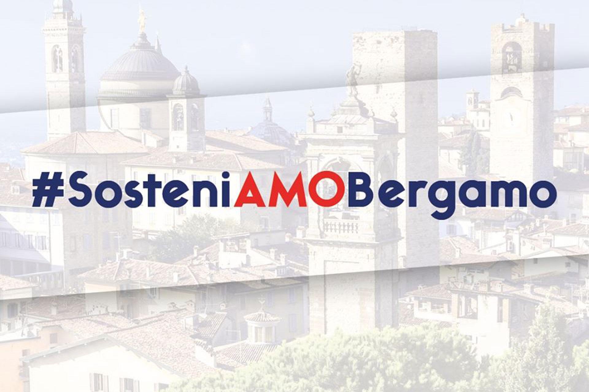 #SosteniAmoBergamo