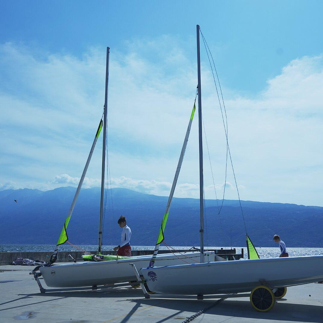 foto barche a vela circolo gargnano