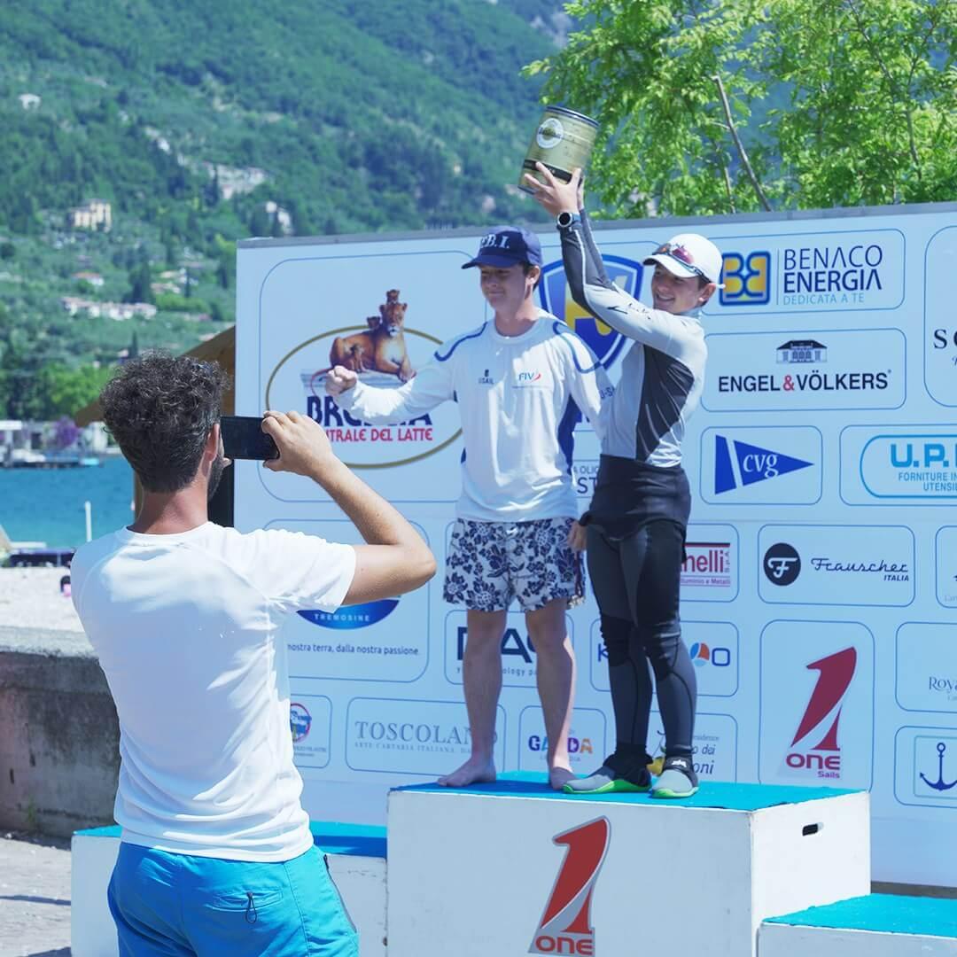 foto premiazione vincitori regata