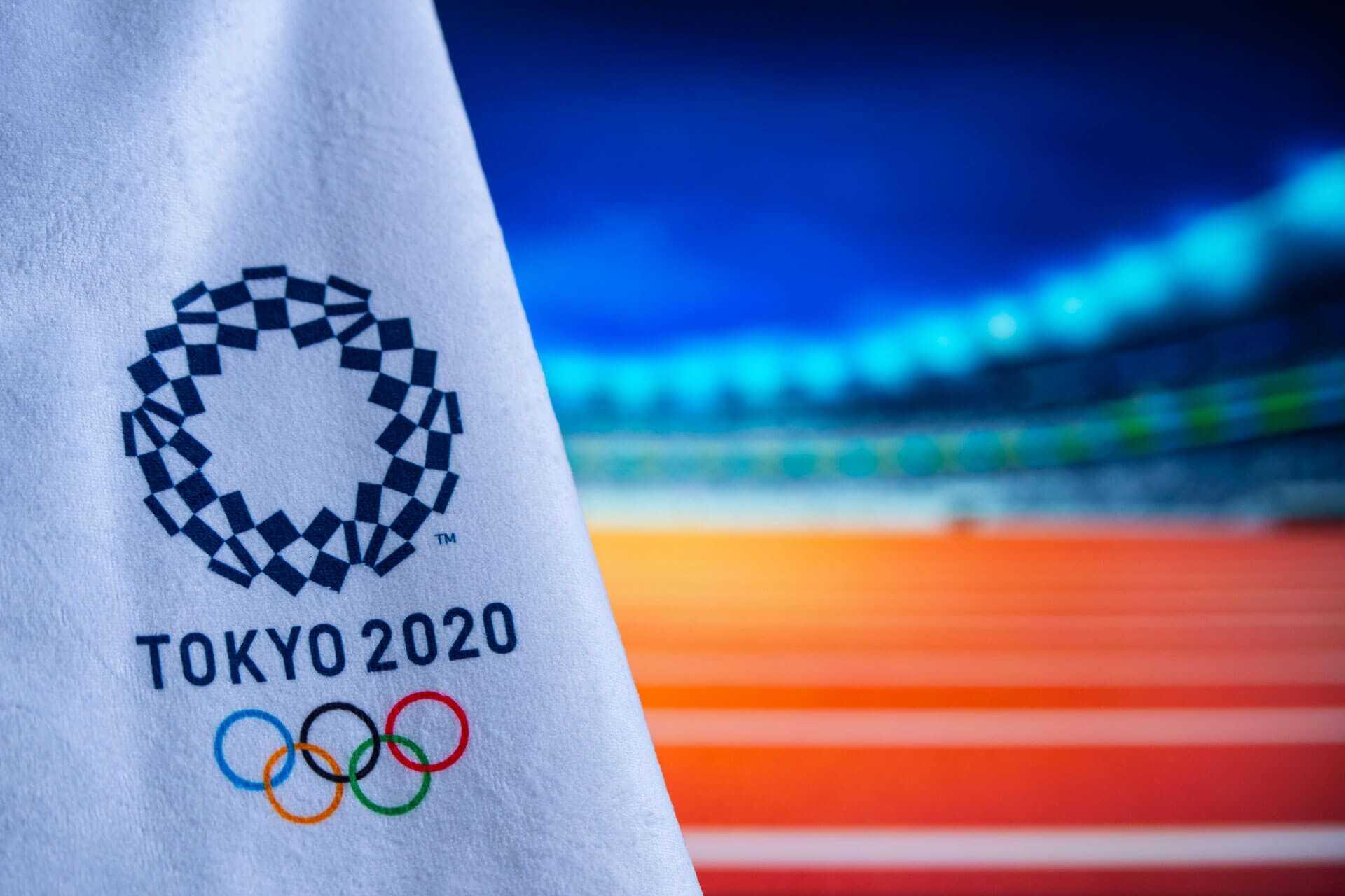 immagine bandiera olimpiadi tokyo 2020
